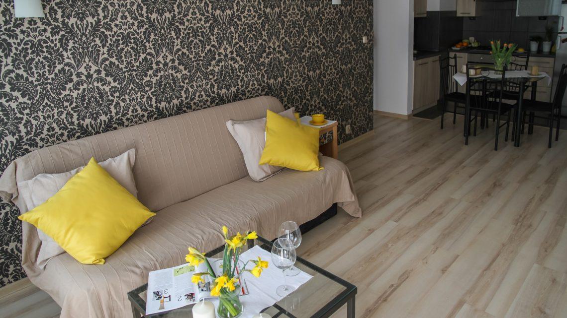 5 idées tendances pour aménager un petit salon avec une cuisine ouverte